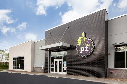 Planet Fitness building